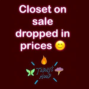 Other - CLOSET ON SALE 🎊🎊🎊